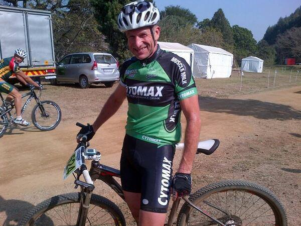 Graham Taylor 6th placed & 1st South African